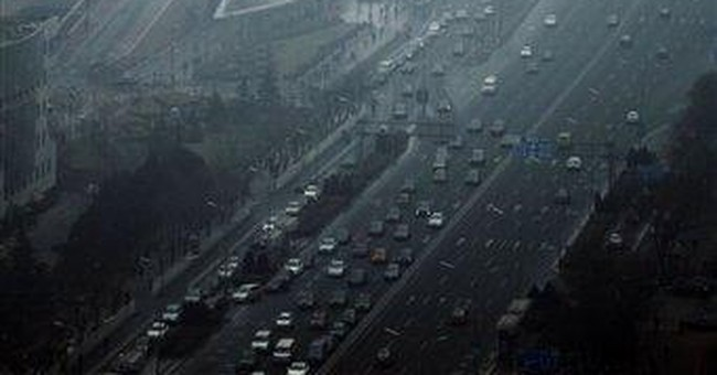 Two-thirds of China's cities fail on air standards