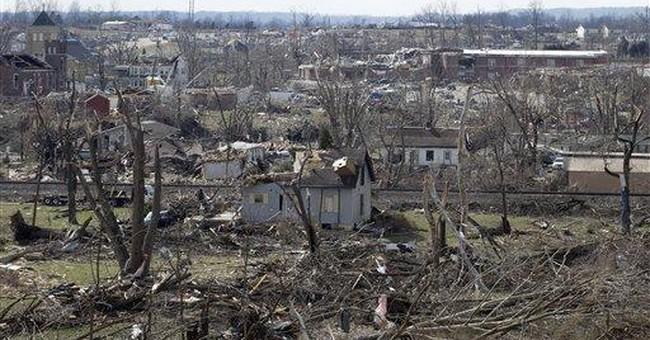 Weather service confirms EF4 tornado in Indiana