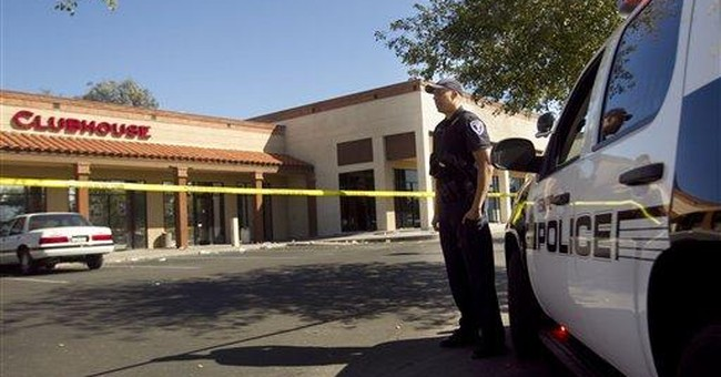 Ariz. police looking for 2 men in club shooting