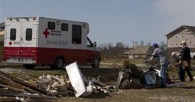 Twister slams same area hit by killer storm in '11