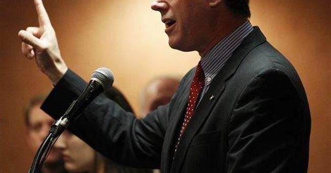 Santorum pushes social agenda in Ohio