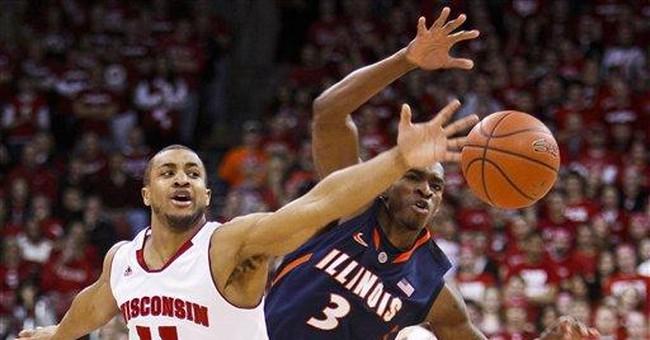 No. 14 Wisconsin beats struggling Illinois 70-56