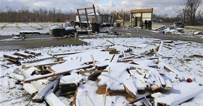 Tornado damage may spell the end of tiny towns