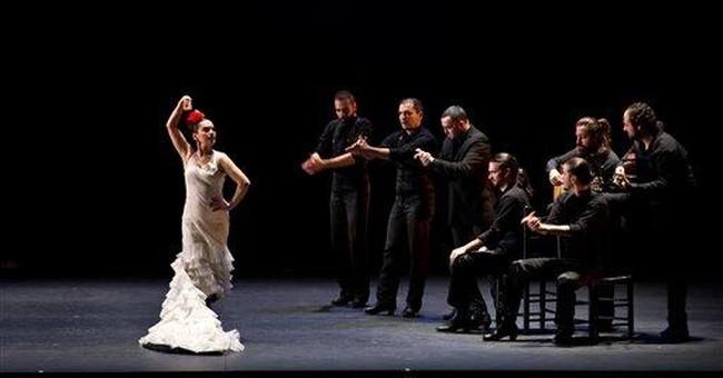 Men in skirts? Entertaining flamenco at NY fest