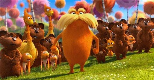 `Lorax' rakes in the green with $70.2M debut
