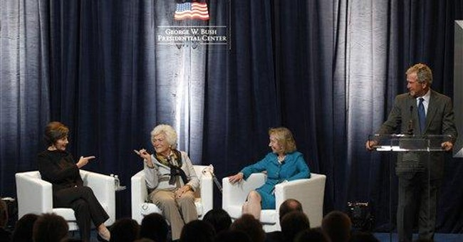 Bushes headline Dallas first ladies conference