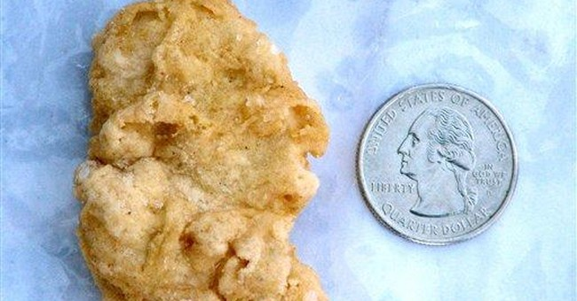McWashington? Presidential McNugget sells for $8K