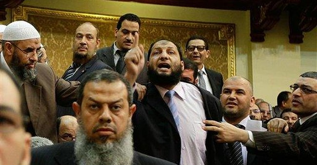 Egyptian lawmaker out by a nose