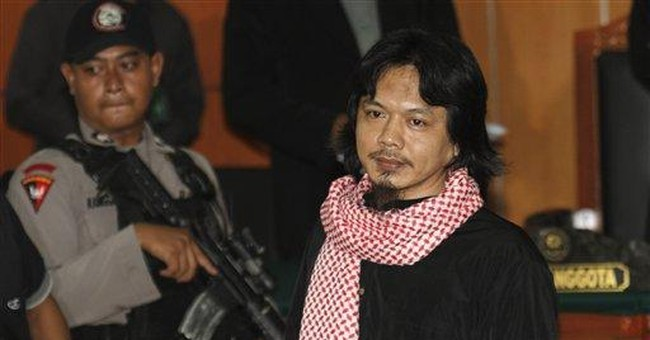 Indonesia sentences militant to 18 years in prison