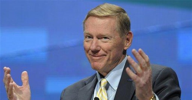 Mulally earns $34.5 million from stock grant