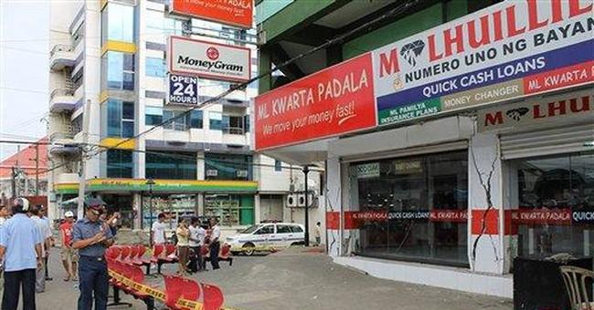 Philippine quake cracks buildings, injures 10