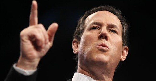 Santorum wins anew on Super Tuesday