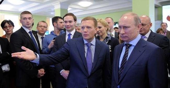 Triumphant Putin pours scorn on opposition