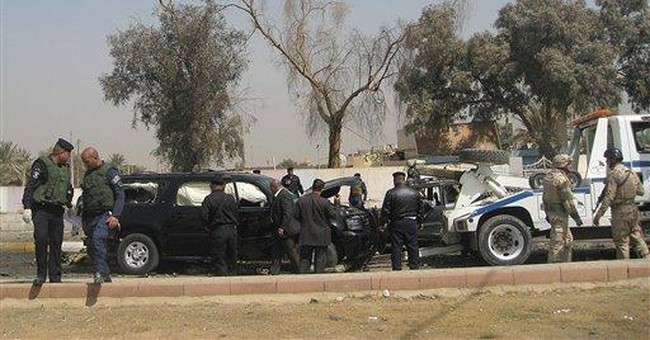 Double bombing kills 14 in northern Iraq