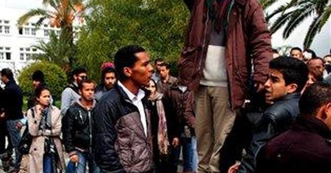 Islamist, leftist Tunisian students clash