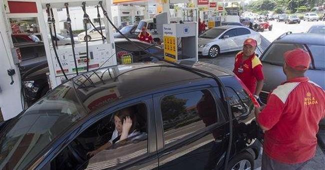 Gasoline truck drivers end strike in Sao Paulo