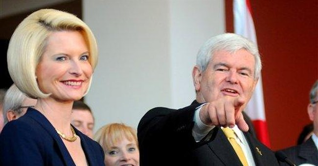 Gingrich not quitting, bets on must-win South