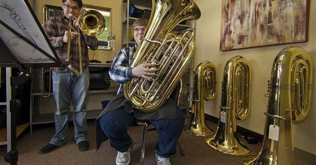 Banda black market suspected as Calif tubas vanish