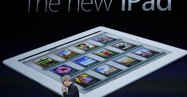 iPad dominates due to Apple's supply deals