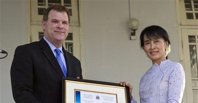 Myanmar's Suu Kyi warns of voter list problems