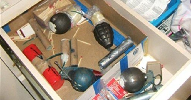Attorney: NY man's arsenal an out-of-control hobby