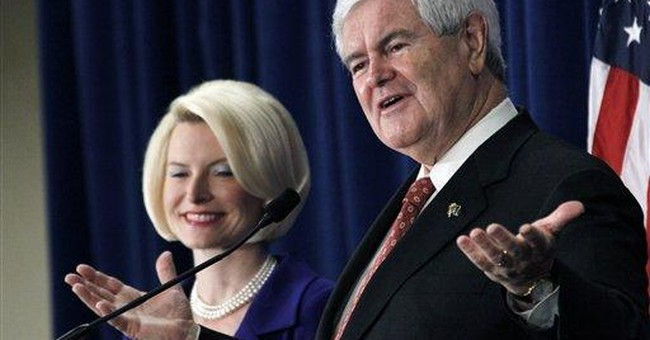 Gingrich labors in bid to prove comeback in South