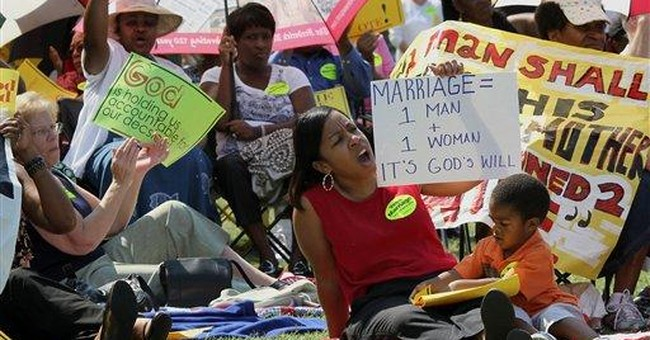 Bruising gay-marriage showdowns likely in 5 states