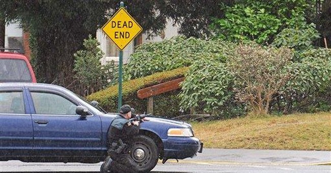Suspect arrested in Wash. courthouse attack