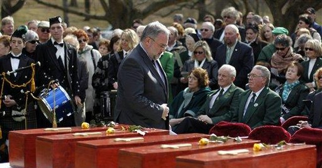 5 Irish immigrants re-buried in Pa. cemetery