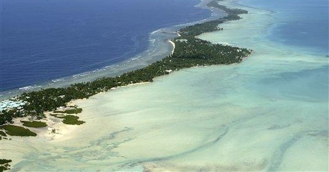 Pacific nation may buy Fiji land as climate refuge
