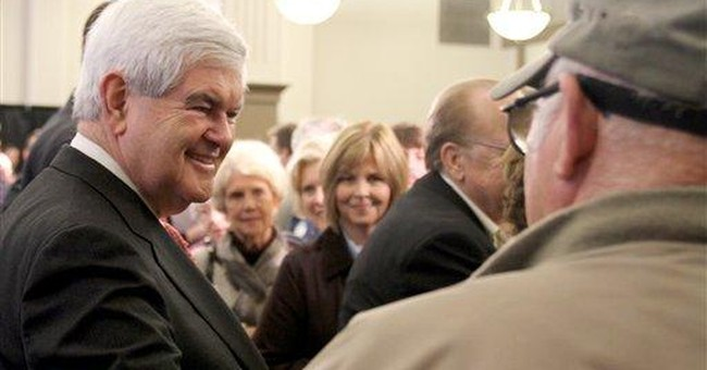 Gingrich: I won't quit if I lose Tuesday in South