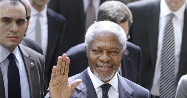 Syria envoy Annan to meet Assad on Saturday
