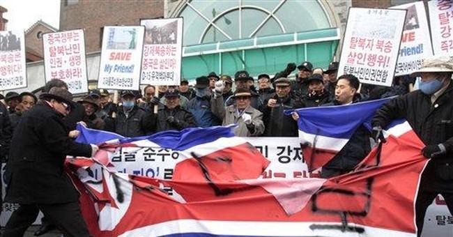 NKorean defectors in China a sore point in Seoul