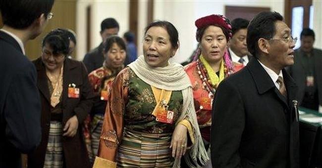 Reports: Chinese police kill Tibetan man, wound 2