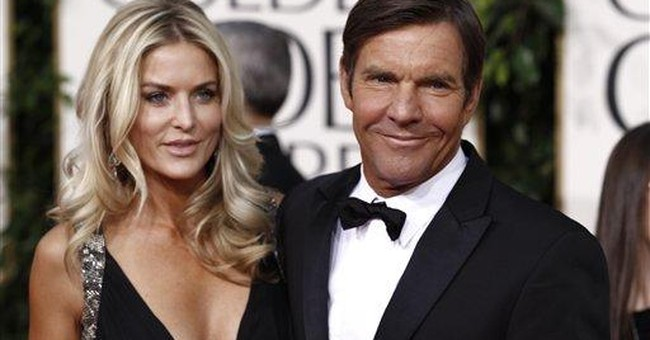 Dennis Quaid's 3rd wife files for divorce in Texas