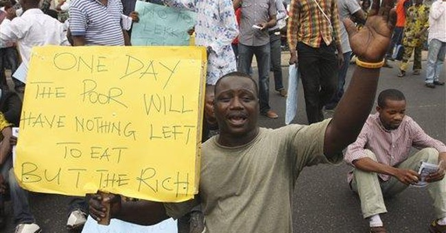 End of decades of Nigeria cheap gas fuels unrest