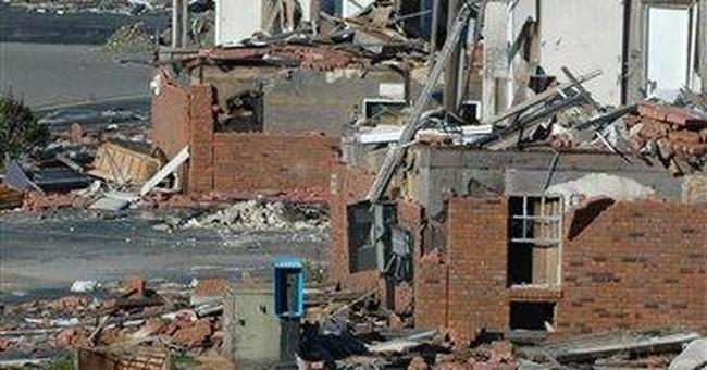 Ala. family lives amid rubble from April tornado