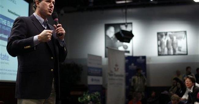 Post-Senate career has seen Santorum's income soar