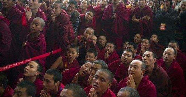 Tibetans' leader blames China for self-immolations