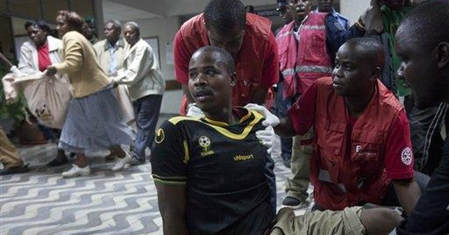 Bus station blasts in Kenya's capital kill 4