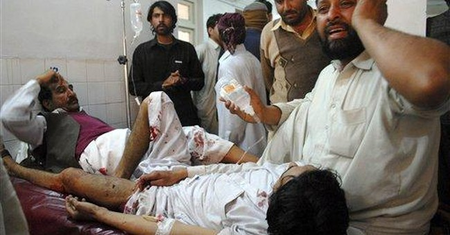 Taliban suicide bomber kills 15 in Pakistan