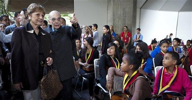 Venezuela's elder maestro, a creator of orchestras