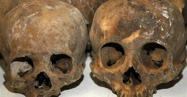 Remains found in Mexico came from ancient cemetery