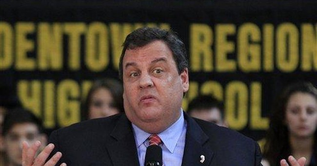 NJ gov: No regret for calling war vet an 'idiot'