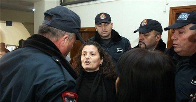 Albanian officials jailed over deadly blast