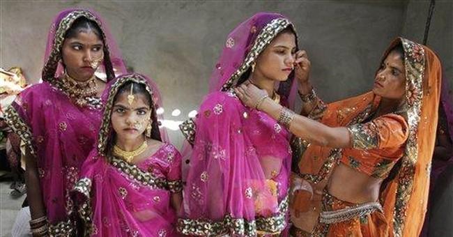 Social group marries poor nomadic women in India