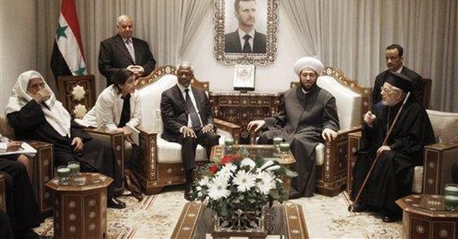 Annan: Killings of civilians must stop in Syria