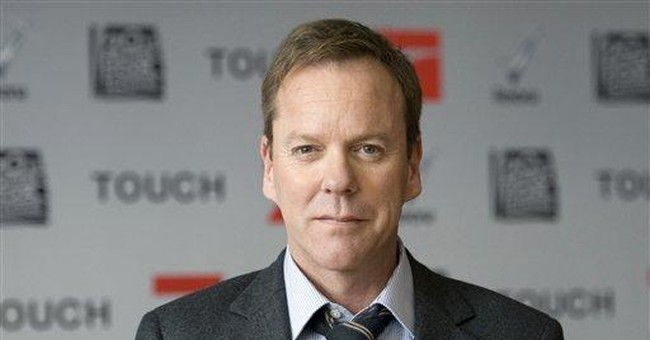 AP Interview: Sutherland talks up new show 'Touch'
