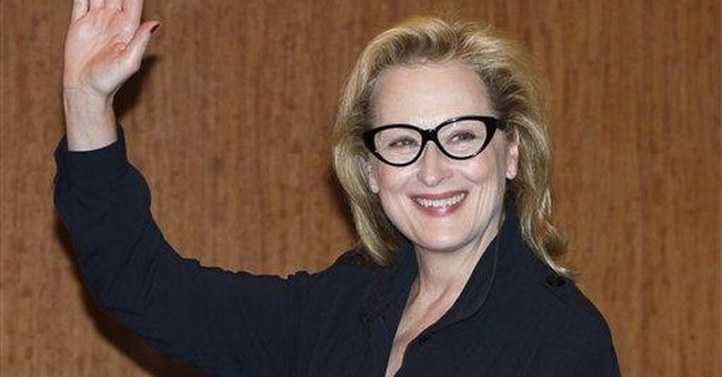 Streep as Clinton? Tribute gets people talking