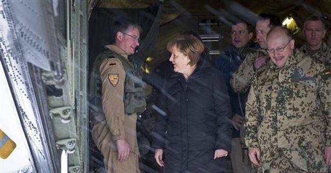 Germany's Merkel makes brief visit to Afghanistan